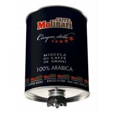 Caffe Molinari Cinque Stelle 100% Arabica 3кг