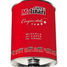 Caffe Molinari Cinque Stelle Red Tin 3кг