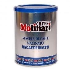 Caffe Molinari Macinato Decaffeinato 250гр.