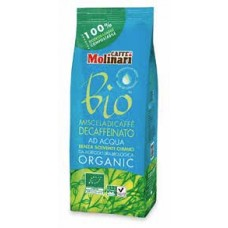 Caffe Molinari Organic Bio Decaffeinato 250гр